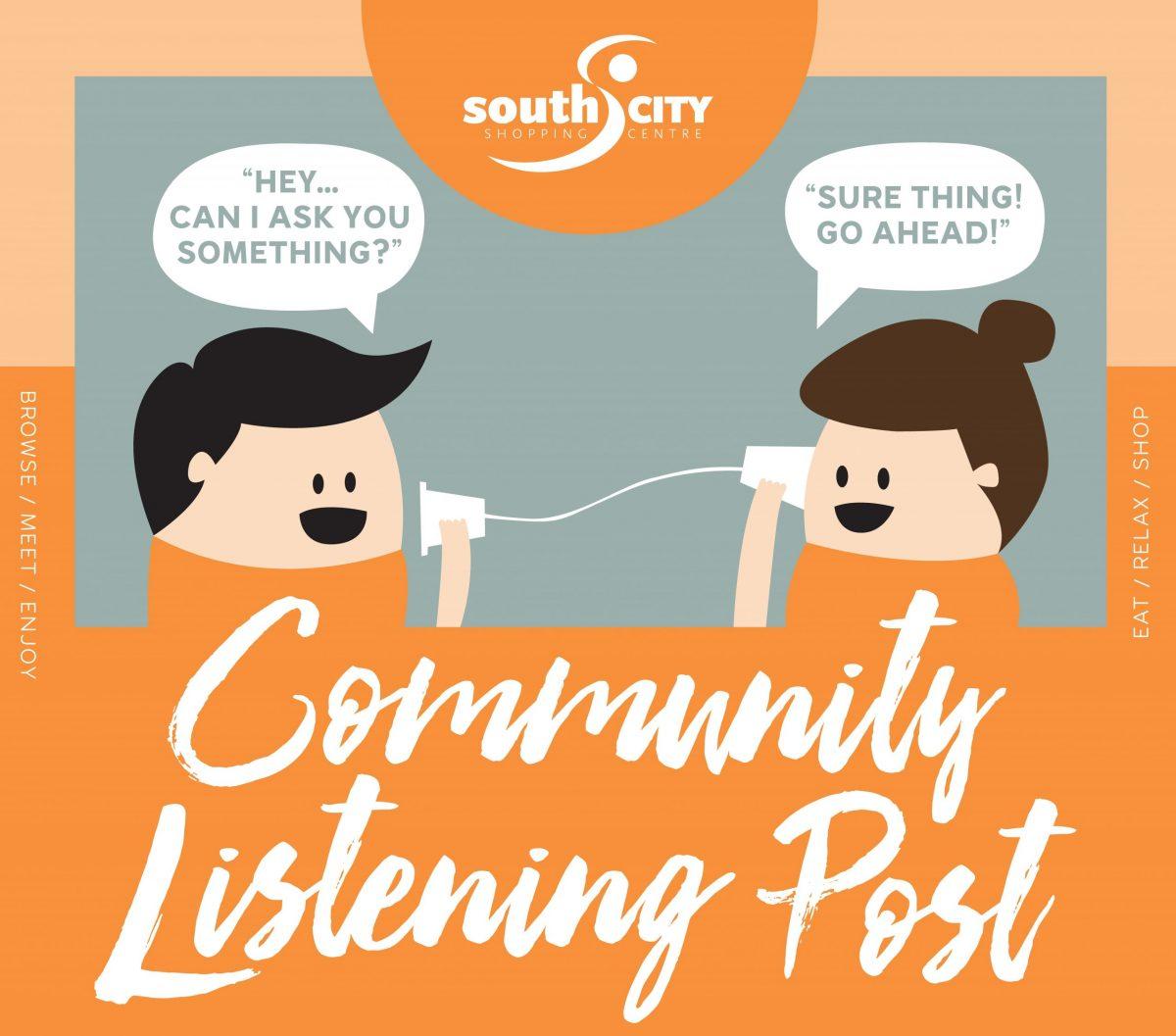 Community Listening Post - starts 4th August Image